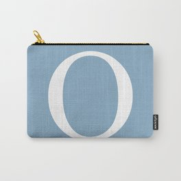 Letter O sign on placid blue background Carry-All Pouch