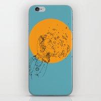third eye iPhone & iPod Skins featuring Third Eye by Matt Smith