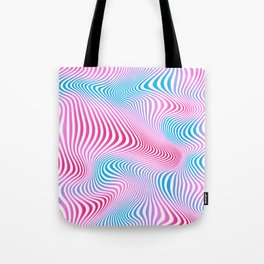 DISTORTION COLD Tote Bag