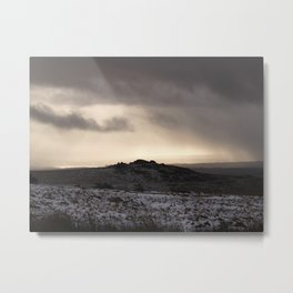 A Tour in Winter Metal Print