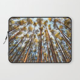 Forest landscape photography - trees and sky Laptop Sleeve
