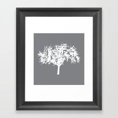 Reverse Tree Framed Art Print