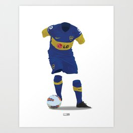 Boca Juniors 2011/12 Art Print