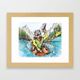River Rodeo Framed Art Print