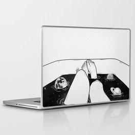Magical bath tube. Laptop & iPad Skin