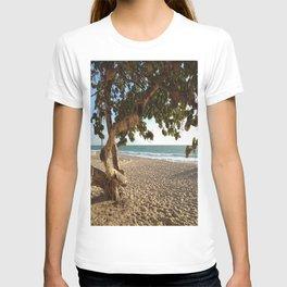 Through The Trees Beach T-shirt