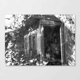 Sad Shed Canvas Print