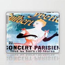 Vintage poster - Yvette Guilbert Laptop & iPad Skin