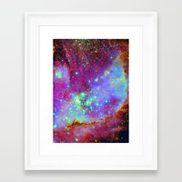 nursery Framed Art Prints featuring Stellar Nursery by Starstuff