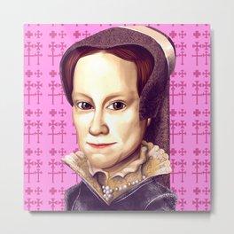 Mary Tudor, Mary I of England Metal Print
