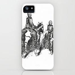 X-Ray Horsemen iPhone Case