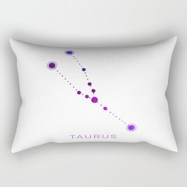 TAURUS STAR CONSTELLATION ZODIAC SIGN Rectangular Pillow