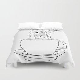 Biondina Caffè Duvet Cover