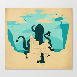 Castle Made of Sand Canvas Print