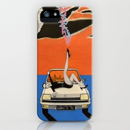 as a courtesy to a client iPhone Case