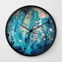 Galactic sparks Wall Clock