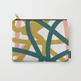 Abstract Lines 02A Carry-All Pouch
