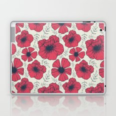 Raspberry Flowers Laptop & iPad Skin