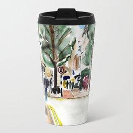 Bond street scene Travel Mug