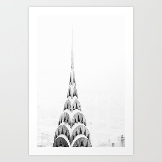Crysler Art Print