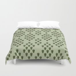 Emerald Thicket Duvet Cover