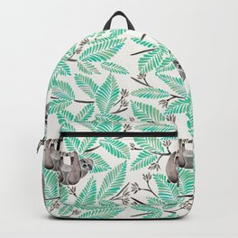 Happy Sloth – Tropical Mint Rainforest Backpack