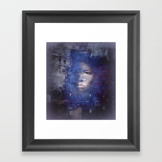 Nautilus Diver Framed Art Print