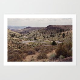 Surreal Road Art Print