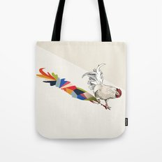 Walking Shadow, Rooster Tote Bag