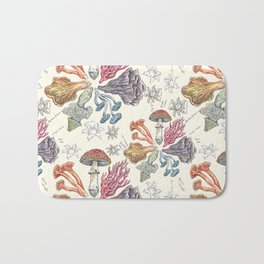 Mushroom Color Wheel Bath Mat