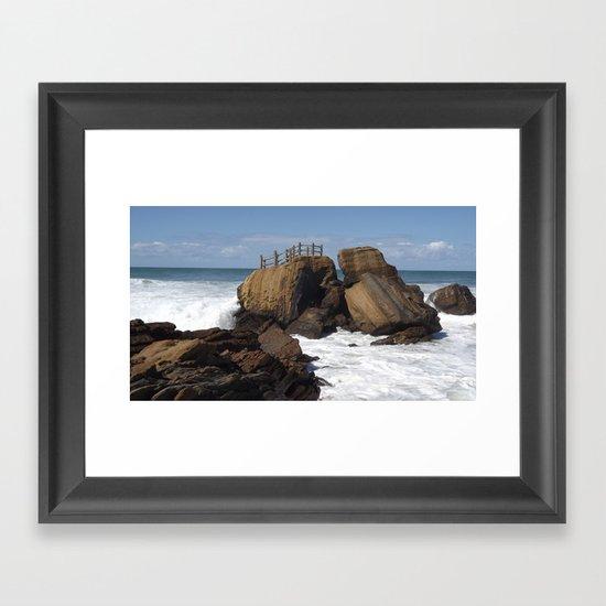 Neptuno Framed Art Print