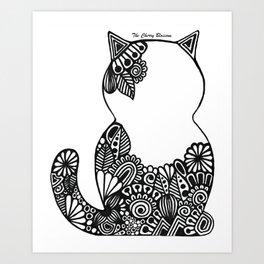 Gatto Art Print
