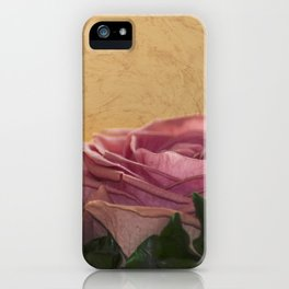 rosea rosa sine aqua iPhone Case