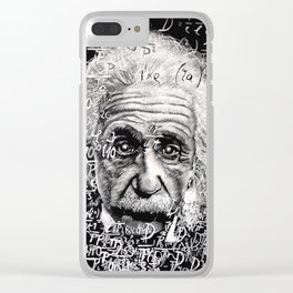 The Mind of a Genius Clear iPhone Case