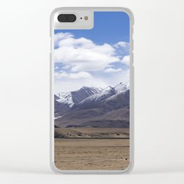 Typical mountain landscape - Tibet Clear iPhone Case