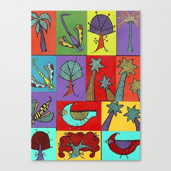 Quilt Blocks Canvas Print