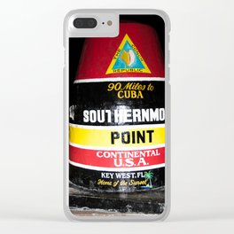 Southern Most Point Clear iPhone Case