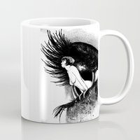 valentina Mugs featuring asc 602 - La spectatrice (Valentina at the gallery) by From Apollonia with Love