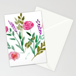 Country Bouquet Stationery Cards