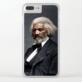 Frederick Douglass Clear iPhone Case