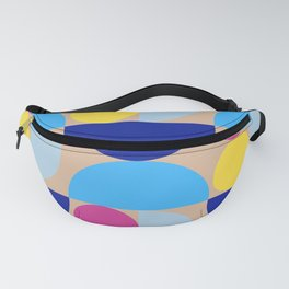 Grapes and apple slices (multicolor) Fanny Pack