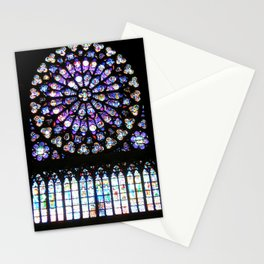 Window of Notre Dame. Stationery Cards