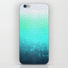 green sparkle iPhone & iPod Skin