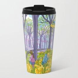 Kites and Daffodils Travel Mug