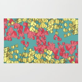 Spring Tulips Rug