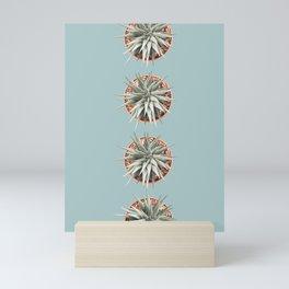 4 cactus print Mini Art Print