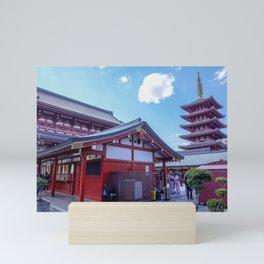 Sensō-ji Tokyo, Japan Mini Art Print