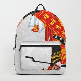 Beijing Opera Character FuXing Backpack