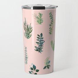 pink garden Travel Mug