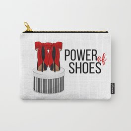 Power of shoes Carry-All Pouch